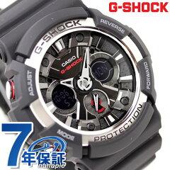 【数量限定特別価格】CASIO G-SHOCK G-ショック アナデジ ブラック×シルバー GA-200-1ADR【あす楽対応】
