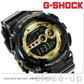 GD-100GB-1DR ジーショック G-SHOCK Gショック Black×Gold Series ブラック×ゴールド
