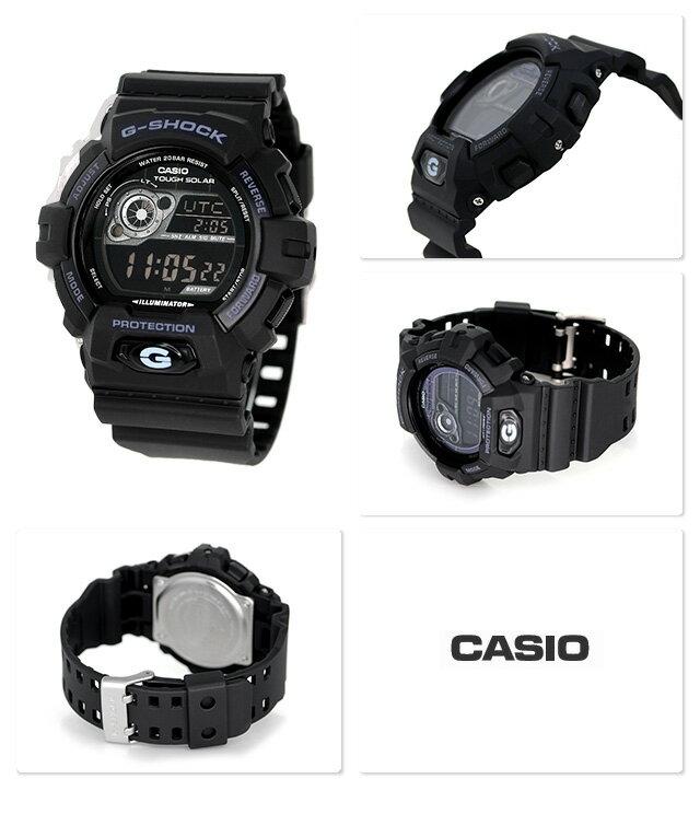 G-SHOCK ソーラー CASIO GR-8900A-1DR 腕時計 カシオ Gショック スタンダードモデル ブラック × ホワイト 時計