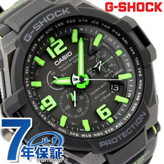 CASIO G-SHOCK G- shock electric wave solar sky cockpit black X green GW-4000-1A3ER