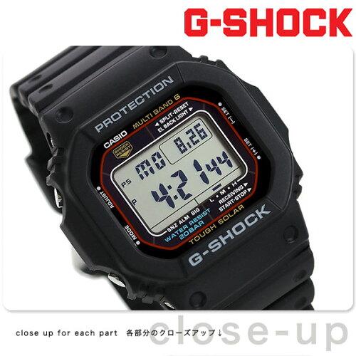 GW-M5610-1ER g-shock アウトドア 電波 ソーラー 5600シリ...