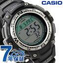 カシオ 腕時計 チープカシオ CASIO SPORTS GEAR スポーツギア ツインセンサー ブラック SGW-100-1VDF チプカシ 時計