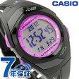 カシオ チプカシ CASIO PHYS フィズ ランニングウォッチ パープル×ブラック STR-300-1CEF【あす楽対応】