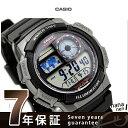 カシオ 腕時計 チープカシオ メンズ 海外モデル ブラック CASIO AE-1000W-1BVCF チプカシ 時計