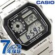カシオ チプカシ 海外モデル クオーツ メンズ 腕時計 AE-1200WHD-1AVCF CASIO シルバー【あす楽対応】