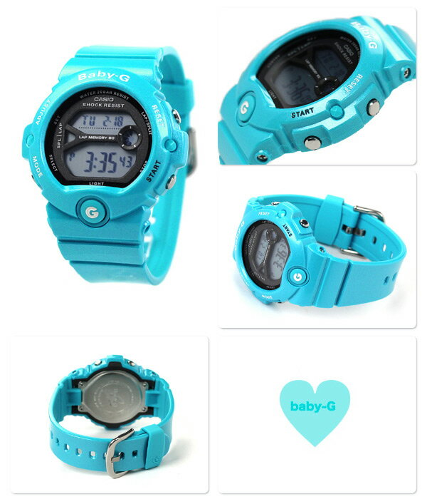 【7月下旬入荷予定 予約受付中♪】Baby-G レディース ランニングウォッチ 腕時計 BG-6903-2DR カシオ ベビーG 時計