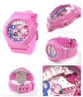 ベビーGネオンダイアルシリーズレディース腕時計BGA-131-4B3DRCASIOBaby-Gクオーツピンク