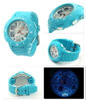 ベビーG腕時計レディースネオンマリンシリーズブルーCASIOBaby-GBGA-170-2BDR