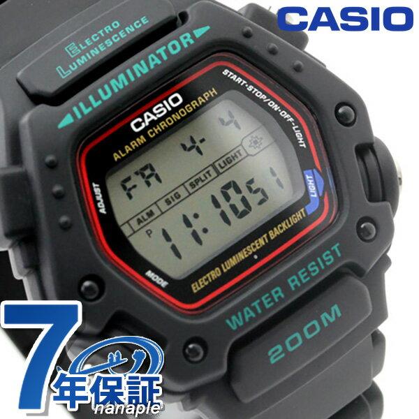 カシオ 腕時計 チープカシオ メンズ 海外モデル CASIO DW-290-1V チプカシ 時計