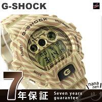 G-SHOCKゼブラカモフラージュシリーズ限定モデルDW-6900ZB-9DRカシオGショックメンズ腕時計クオーツゴールド