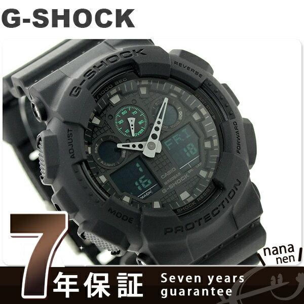 CASIO G-SHOCK military watch GA-100MB-1ADR G-SHO...