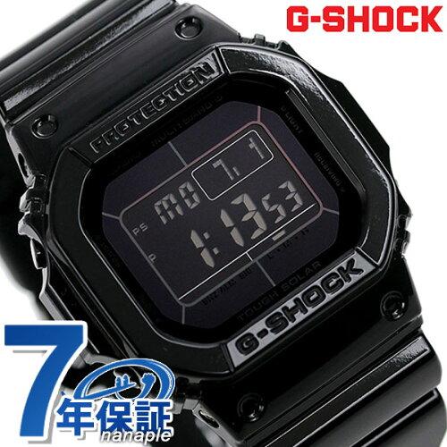 G-SHOCK 電波 ソーラー CASIO GW-M5610BB-1ER 腕時計 カシオ Gショック グロッシー・ブラックシリ...