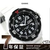 カシオ 腕時計 チープカシオ 海外モデル MRW-200HC-7BVDF CASIO クオーツ ブラック×ホワイト チプカシ 時計