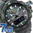 【1000円OFFクーポン付】プロトレック 電波ソーラー トリプルセンサー PRW-6000Y-1AER CASIO PRO TREK メンズ 腕時計 ブラック
