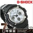 AWG-M100S-7AER G-SHOCK 電波ソーラー 腕時計 カシオ Gショック メンズ 腕時計 ブラック×ホワイト【あす楽対応】