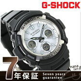 AWG-M100S-7AER G-SHOCK 電波ソーラー 腕時計 カシオ Gショック メンズ 腕時計 ブラック×ホワイト