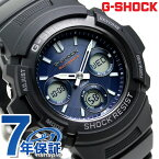 G-SHOCK 電波ソーラー メンズ 腕時計 AWG-M100SB-2AER カシオ Gショック ブルー×ブラック