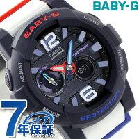 f0acde91e8 Baby-G レディース Gライド クオーツ 電波ソーラー 腕時計 BGA-180-2B2DR ...