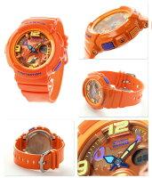 Baby-Gビーチ・トラベラー・シリーズレディース腕時計BGA-190-4BDRカシオベビーGクオーツオレンジ