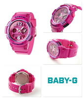 Baby-Gクオーツレディース腕時計BGA-210-4B2DRカシオベビーGピンク
