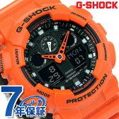 G-SHOCK スペシャルカラー レイヤードカラー 腕時計 GA-100L-4ADR Gショック ブラック×オレンジ