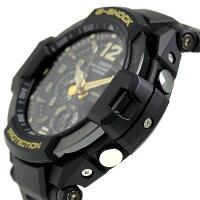 G-SHOCKヴィンテージブラック&ゴールドメンズ腕時計GA-1100GB-1ADRカシオGショック
