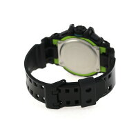 G-SHOCKハイパーカラーズメンズ腕時計GA-400LY-1ADRカシオGショックブラック×グリーン