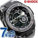 G-SHOCK Gスチール クオーツ メンズ 腕時計 GST-210M-1ADR カシオ Gショック ブラック×グレー【あす楽対応】