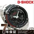 GST-S100D-1A4DR G-SHOCK Gスチール メンズ 腕時計 カシオ Gショック ブラック×レッド【あす楽対応】
