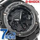 G-SHOCK Gスチール ソーラー メンズ 腕時計 GST-S110BD-1BDR カシオ Gショック オールブラック
