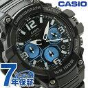 カシオ 腕時計 チープカシオ 海外モデル クロノグラフ メンズ MCW-100H-1A2VCF CA...