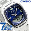 カシオ チプカシ スタンダード 海外モデル メンズ 腕時計 AW-81D-2AVDF CASIO ブルー【あす楽対応】