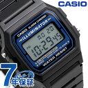 カシオ 腕時計 チープカシオ 海外モデル デジタル F-105W-1ACF CASIO ブラック チプカシ 時計