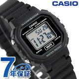 カシオ 腕時計 チープカシオ ストップウォッチ LA-20WH-1ADF CASIO ブラック チプカシ