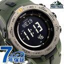 カシオ プロトレック トリプルセンサー 電波ソーラー PRW-3100Y-3ER CASIO PRO TREK 腕時計