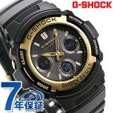 G-SHOCK ブラック&ゴールドシリーズ 電波ソーラー 腕時計 AWG-M100SBG-1A カシオ Gショック 時計【あす楽対応】