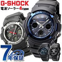 G-SHOCK電波ソーラー電波時計AWG-M100アナデジ腕時計カシオGショックブラック【あす楽対応】