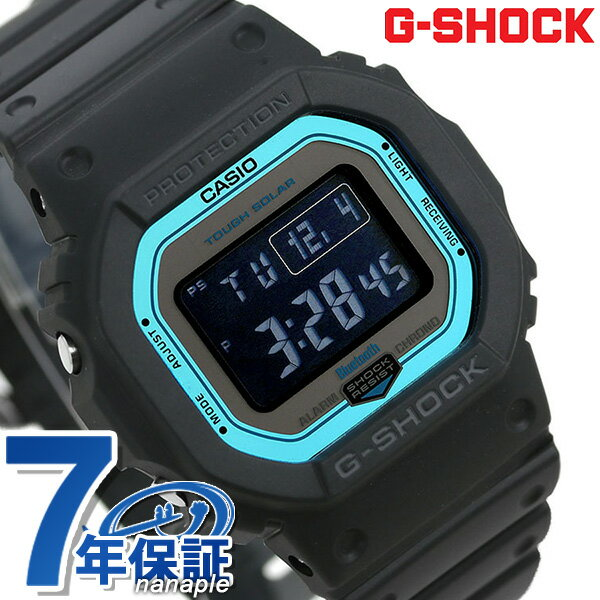 G-SHOCK電波ソーラーGW-B5600デジタルBluetooth腕時計GW-B5600-2ERGショックブラック あす楽対応