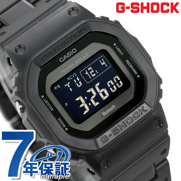 G-SHOCKブラック電波ソーラーGW-B5600デジタルBluetooth腕時計GW-B5600BC-1BERGショックオール