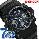G-SHOCK 電波 ソーラー CASIO AWG-M100SB-2AER メンズ 腕時計 カシオ Gショック ブルー × ブラック 時計【あす楽対応】