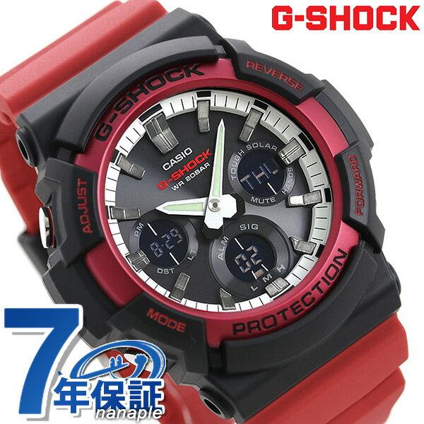 CASIO G-SHOCK Red watch G-SHOCK G GAS-100 GAS-10...