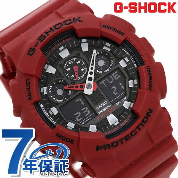 腕時計, メンズ腕時計 G-SHOCK CASIO GA-100B-4ADR G