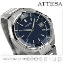 CB3010-57L シチズン アテッサ 電波ソーラー CITIZEN ATTESA メンズ 腕時計 ネイビー【あす楽対応】