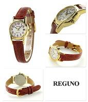 【店内ポイント最大43倍 26日1時59分まで】 シチズン レグノ ソーラー レディース ストラップ KH4-823-90 CITIZEN REGUNO 腕時計 ホワイト×レッド 時計