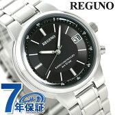 シチズン レグノ 電波ソーラー メンズ KL8-112-51 CITIZEN REGUNO 腕時計 ブラック