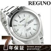 シチズン レグノ スタンダード リングソーラー メンズ KM1-016-11 CITIZEN REGUNO 腕時計 シルバー