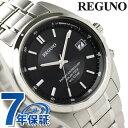 シチズン REGUNO レグノ ソーラーテック電波時計 ブラック RS25-0344H 腕時計 時計