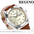 シチズン レグノ スタンダード リングソーラー 腕時計 KM1-211-30 CITIZEN REGUNO ゴールド×ブラウン
