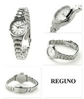 シチズンレグノリングソーラーレディース腕時計KM2-012-91CITIZENREGUNOシルバー