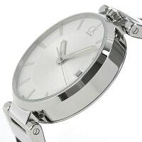 ckカルバンクラインワールドリースイス製メンズ腕時計K4A211C6ckCalvinKleinシルバー×ブラック